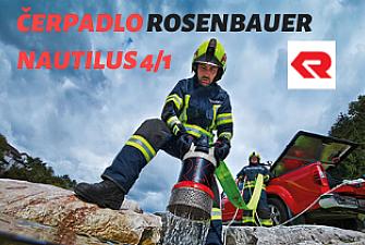 ponorné kalové čerpadlo Rosenbauer Nautilus